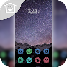 Beautiful starry theme