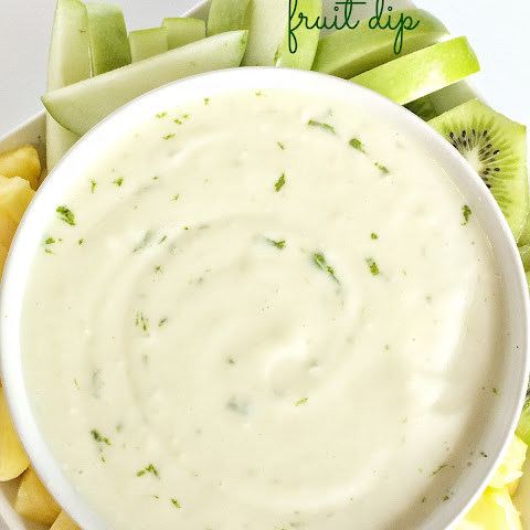 Key Lime Cheesecake Fruit Dip