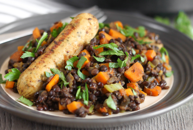 Lentil And Garlic Sausage Cassoulet Recipes — Dishmaps