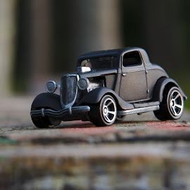 Blacked out 32 by Benjamin Howen III - Artistic Objects Toys ( 1932, car, diecast, toy )