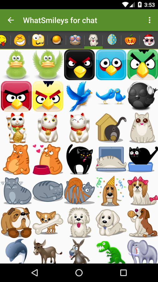 What 39 smileys smileys for chat apk android gratuit t l charger - Telecharger image de chat gratuit ...