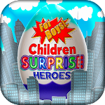Surprise Eggs Superheroes Icon