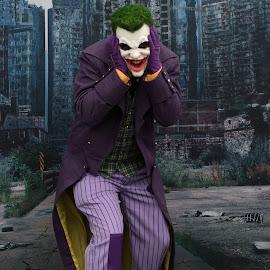 Joker by Cheryl Waring - People Street & Candids