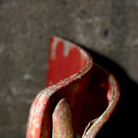 Worn by Eirin Hansen - Abstract Macro