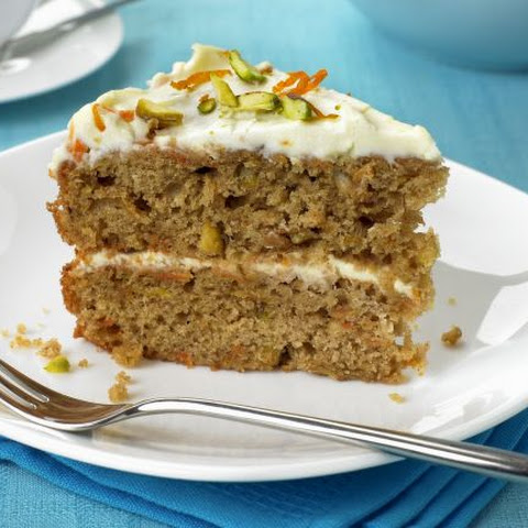 Soft Cheese and Carrot Sponge
