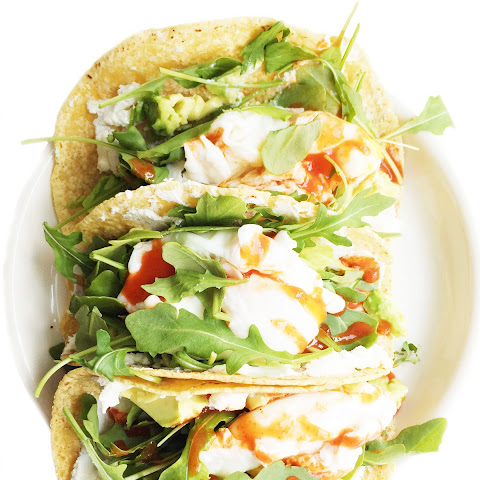 Poached Egg Breakfast Tacos