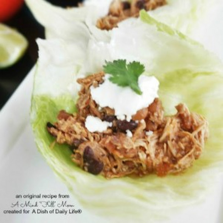 Slow Cooker Sweet and Spicy Pineapple Chicken Lettuce Wraps Recipe ...