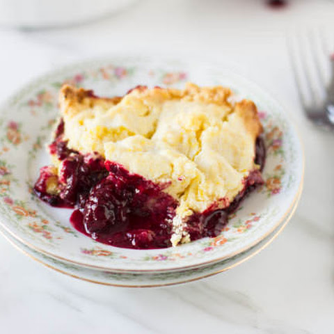 Lemon Blackberry Cobbler