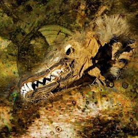 by Bob Welch - Digital Art Animals