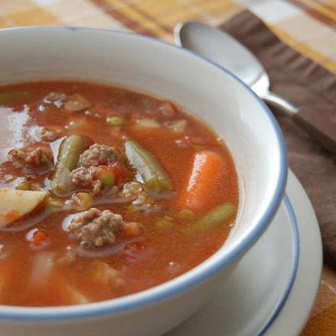 Farmhouse Hamburger Soup