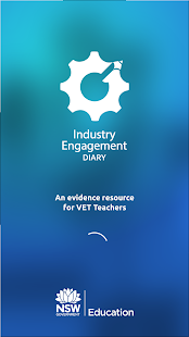 Industry Engagement Diary - screenshot