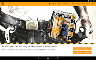 Screenshot of HORNBACH ProfiBuch
