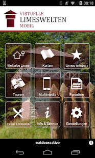 Virtuelle Limeswelten mobil - screenshot