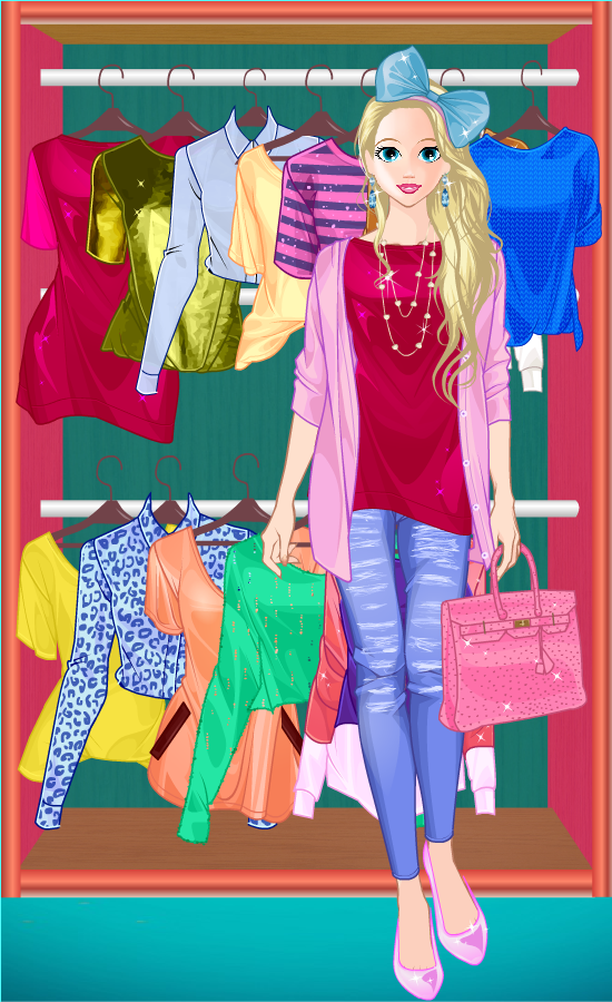 Princess Doll Fashion Dress Up Screenshot