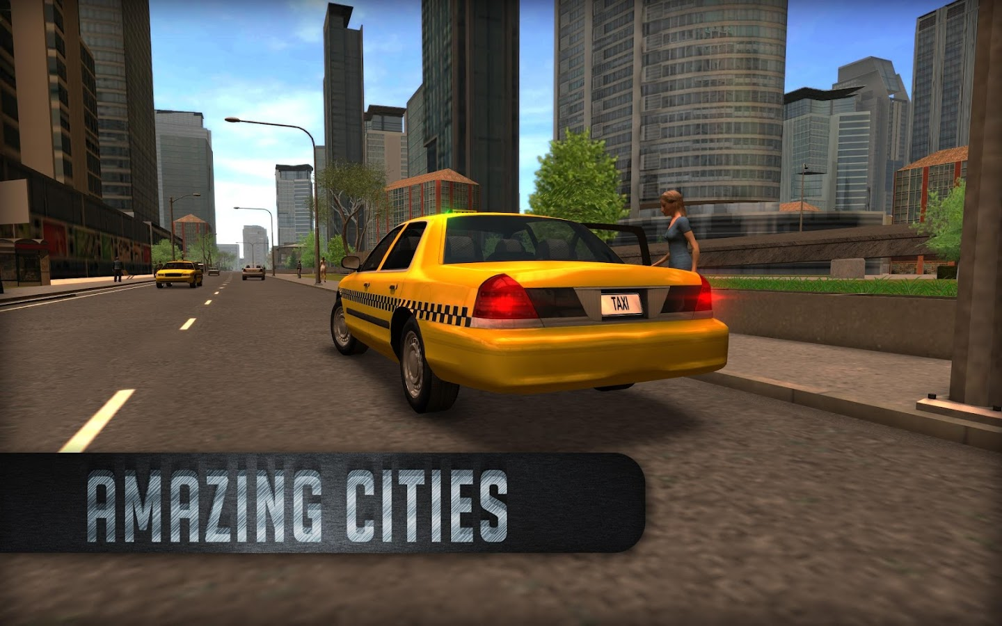 Taxi Sim 2016 Screenshot 2