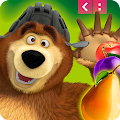 Game Masha and The Bear Jam Match 3 apk for kindle fire