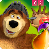 Download Masha and The Bear Jam Match 3 APK on PC
