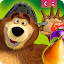 Game Masha and The Bear Jam Match 3 1.0.244 APK for iPhone