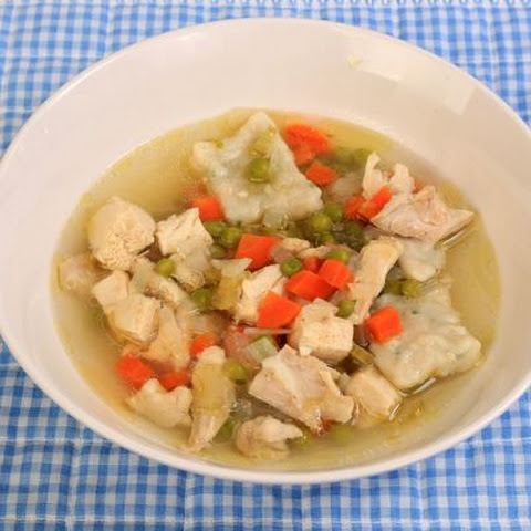 Simple Chicken And Dumpling Soup