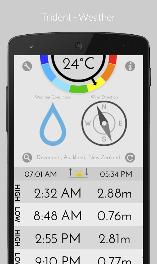 Trident - Weather (Premium) Screenshot