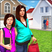 Pregnant Mom Virtual Family Neighbor Helper