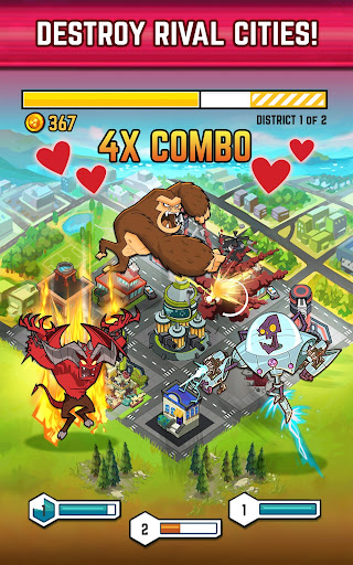 SMASH Monsters - City Rampage - screenshot