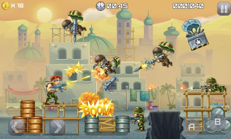 Metal Soldiers Screenshot 1