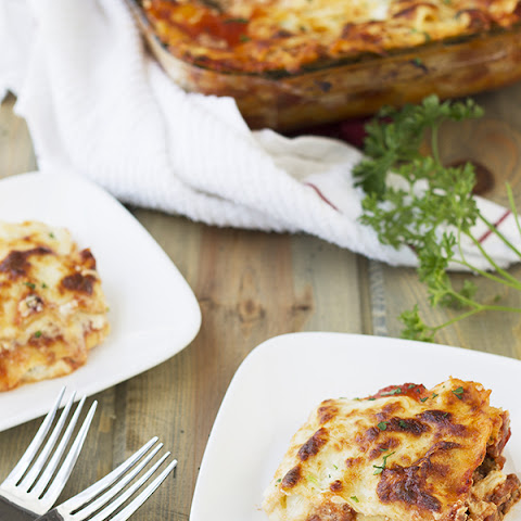 Five Cheese Lasagna