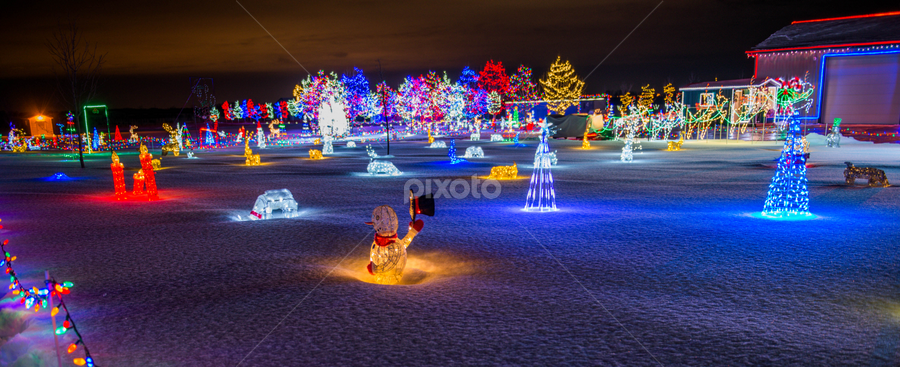 Christmas Lighting by Joseph Law - Public Holidays Christmas