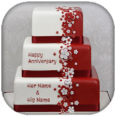 Name On Anniversary Cake Photo APK for Ubuntu