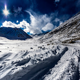 Frozen Sunlight by Rajiv Bhardwaj - Landscapes Mountains & Hills