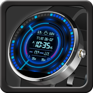 V11 Watch Face for Moto 360