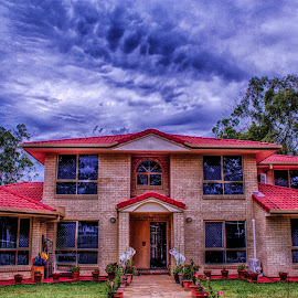 The mansion  by Bhante Maliyadewa - Buildings & Architecture Homes