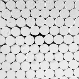 The Circles by Vinoth Pugalmani - Abstract Patterns ( circles, iphoneography, monochrome, pattern, black and white )