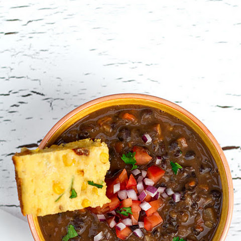 Brazilian Style Black Bean and Smoked Tofu Stew (Vegan Feijoada)