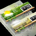 Weather & Clock Widget - Alpha APK for Bluestacks