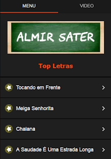 Almir Sater Letras - screenshot