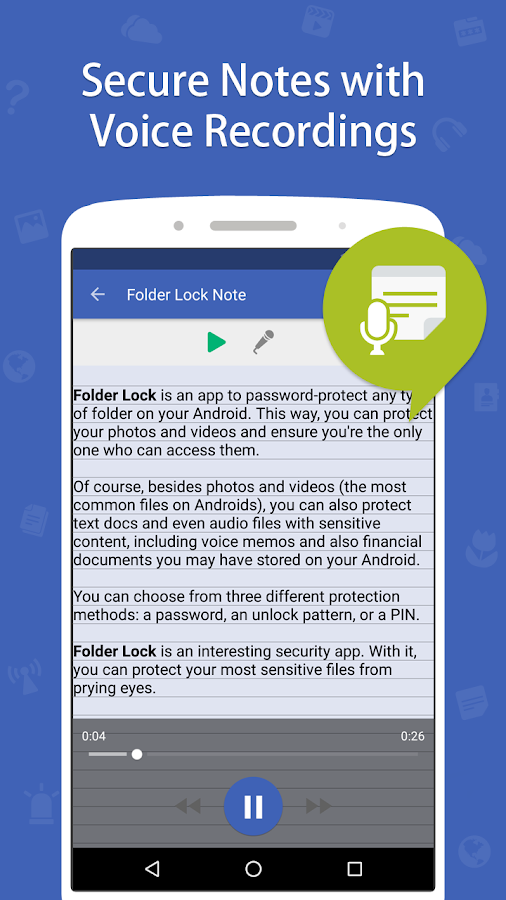 Folder Lock Pro Screenshot 6
