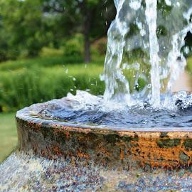 Cantigny Fountain by Beth Bowman - City,  Street & Park  Fountains (  )