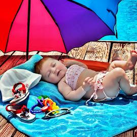Pool Babe by Sheila Onkst - Babies & Children Babies ( kidsofsummer )