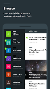 Readzi – A Feedly RSS Reader- screenshot thumbnail