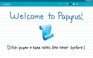 Screenshot of Papyrus - Natural Note Taking