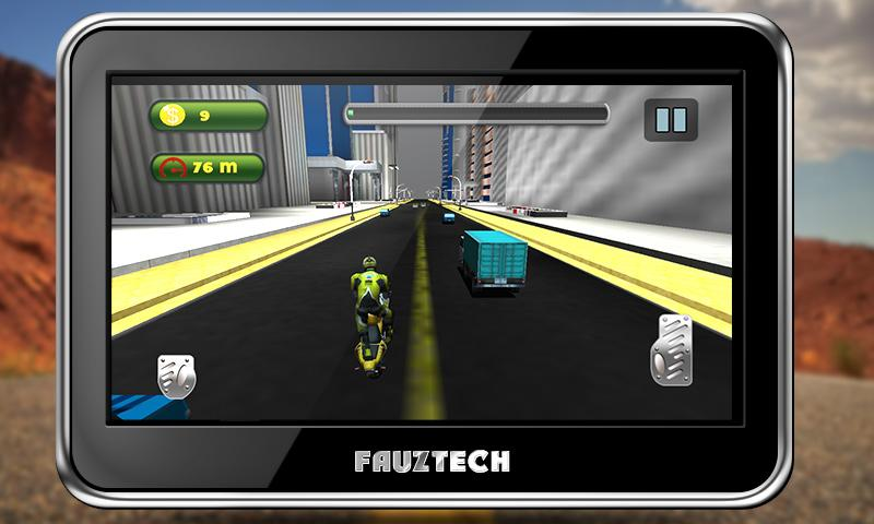 Highway Traffic Moto Racing Screenshot 3