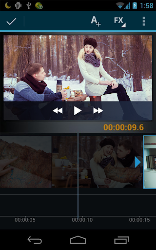 Movie Maker Editor - screenshot