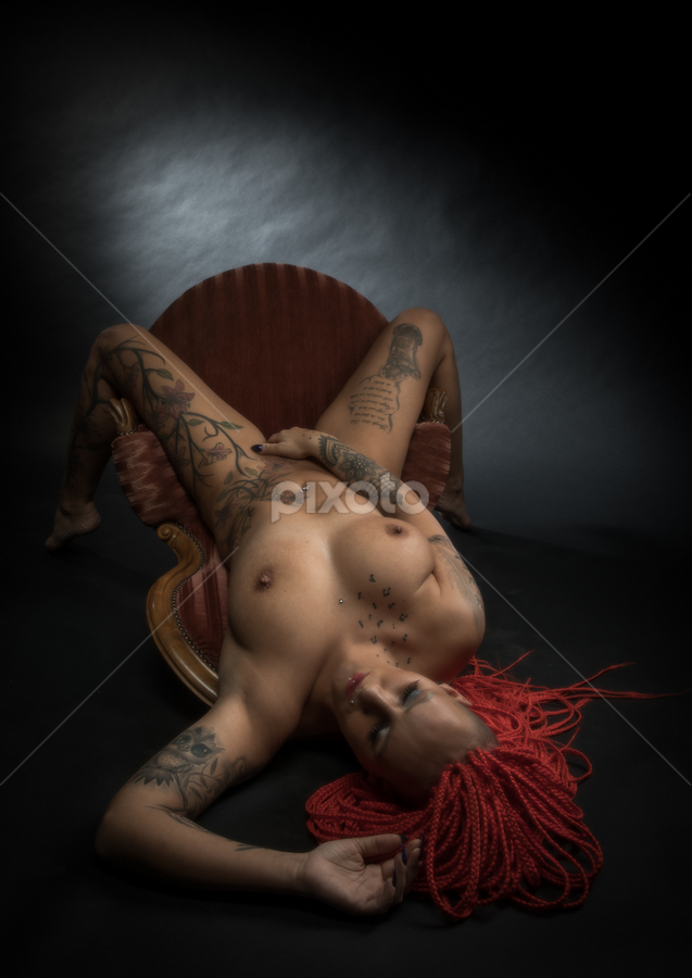 Rock yourself by Reto Heiz - Nudes & Boudoir Artistic Nude ( erotic, sexy, nude, nudeart, hot, redhair )