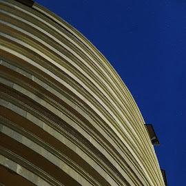 CURVAS EN EL CIELO by Kile Zabala - Buildings & Architecture Architectural Detail ( arquitectura, ciudad, edificios, city )