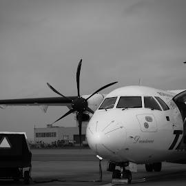 Atr42 by Tudor Radulescu - Transportation Airplanes
