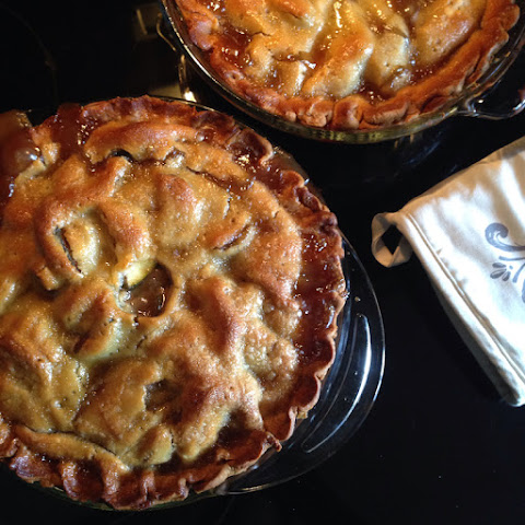 "Zucchini ""Apple"" Pie"
