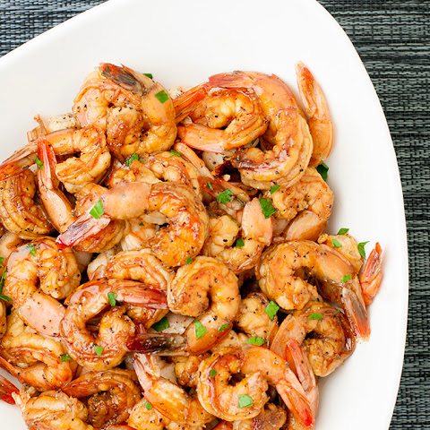 Honey-Cider Shrimp