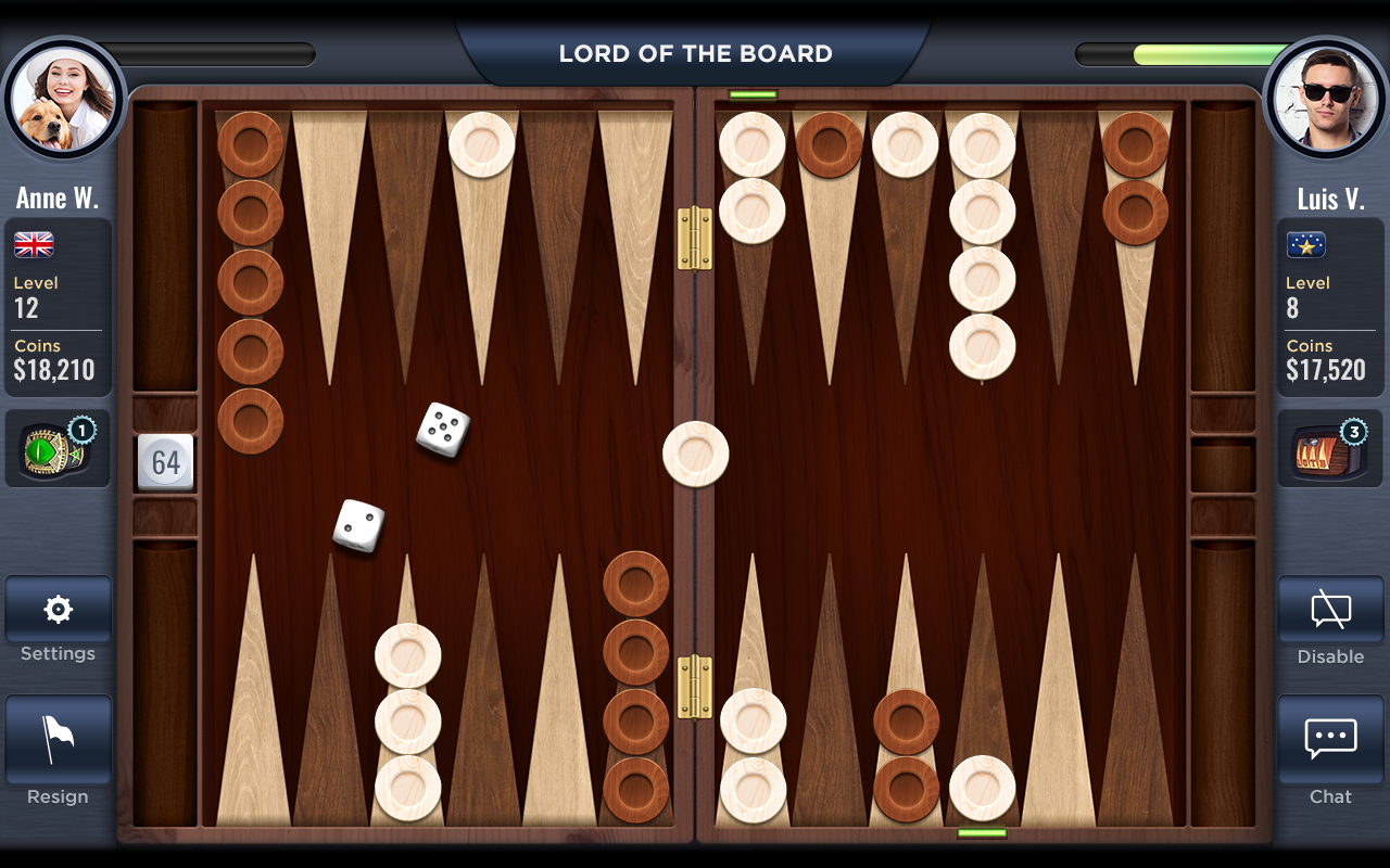 Backgammon - Lord of the Board Screenshot 5